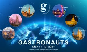 Gastonauts Global 2021 logo
